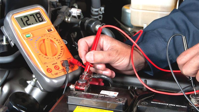 Проверка электрической цепи автомобиля